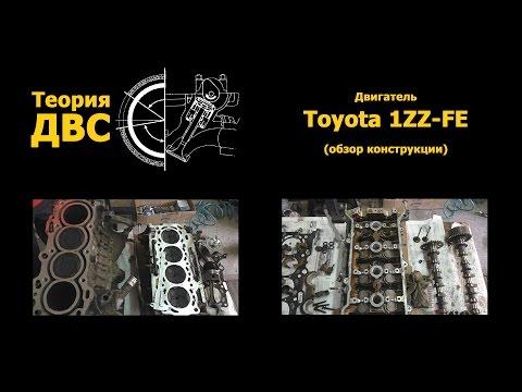 Фото к видео: Двигатель Toyota 1ZZ-FE (обзор конструкции)