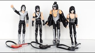Unboxing the KISS 3.75 inch Love Gun figures