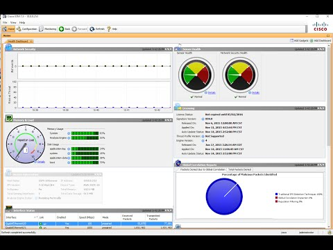 ASA IPS Module Configuation for Traffic Inspection - YouTube
