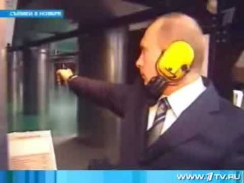 KGB Envoy to Stasi Dresden HQ Vladimir Putin Shooting in SVR/KGB Moscow HQ - Stasi Crash 20 Years