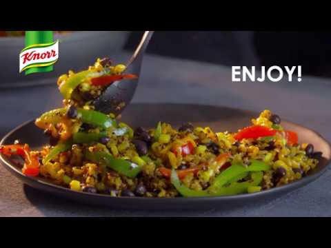 Knorr One Skillet Meals - Southwestern Black Beans Brown Rice & Quinoa