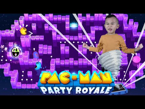 Pac Man Battle Royale Gameplay In Real Life | Apple Arcade | Kaven App Review