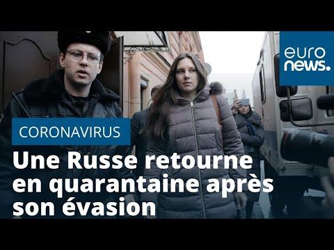 Coronavirus: en Russie, une femme retourne en quarantaine après une évasion