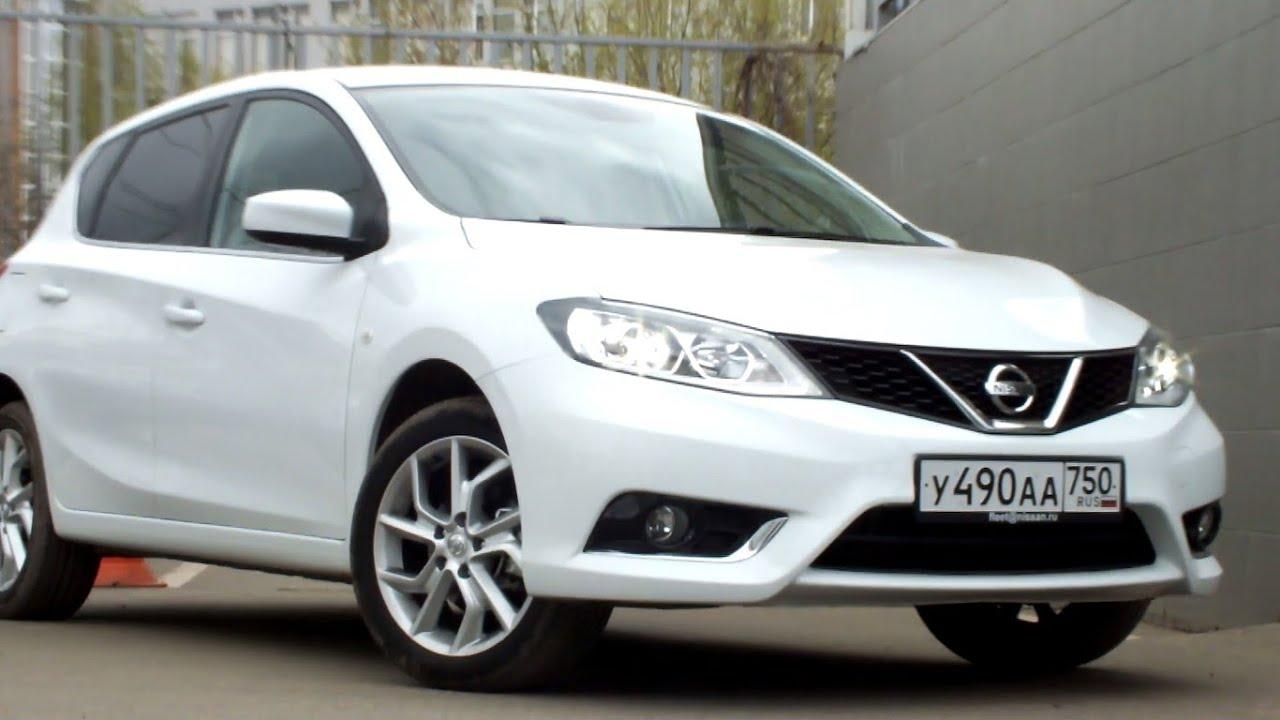 New Nissan Tiida 2015 Interior интерактивный обзор