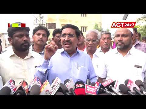 Minister Narayana Voice on   Nellore district Cyclone || ACT24X7HDNEWS