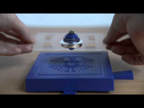 Magnetic gyroscope levitation
