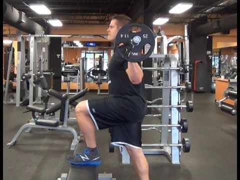 Barbell High Step: FIRE UP the Hamstrings, Glutes & Hips FAST