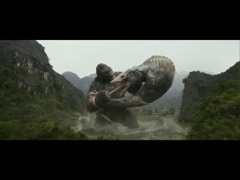 king kong movie climax  KING KONG VS SCULL CRAWLER full reversed