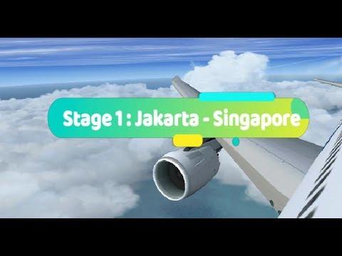 Stage 1 : Jakarta - Singapore