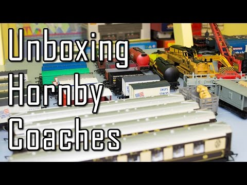 Unboxing Hornby Pullman Coaches & Wagons