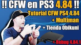 Instalar CFW en PS3 4.84 TUTORIAL + Multiman + Tienda + Rebug