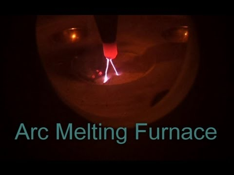 Vacumm Arc Melting - 6000 °F Furnace