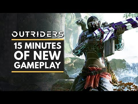OUTRIDERS   15 Minutes of NEW Gameplay – Devastator, Pyromancer & Trickster