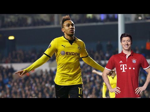 Lewandowski🆚Aubameyang. Best Skills and Goals 2016/17 season!❤️