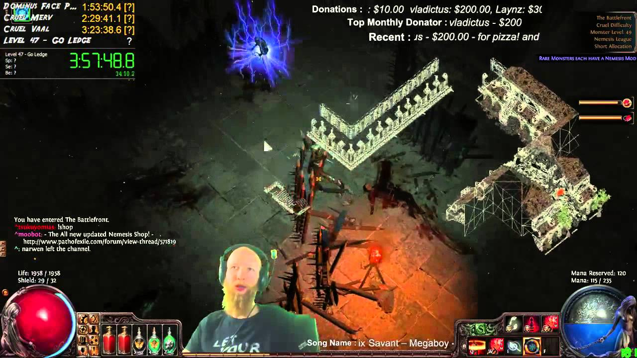 The BEST and FASTEST way to Level in Path of Exile