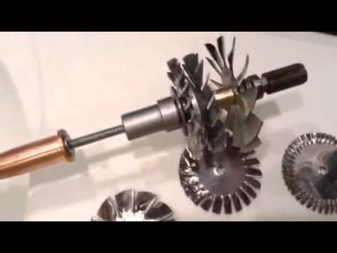 Homemade mini jet engine project attempt