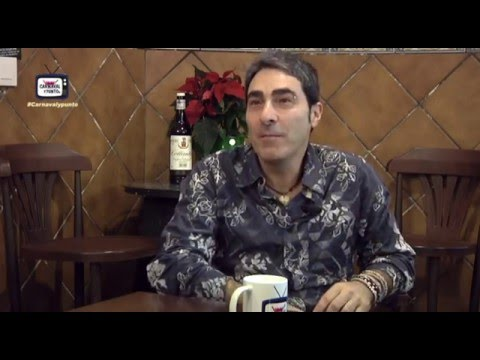 Carnaval y Punto Tv. Entrevista a Antonio Martínez Ares. 17-12-2015