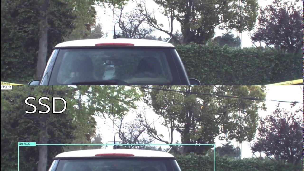 DiDi Challenge - Tiny YOLO VOC vs SSD vehicle detection