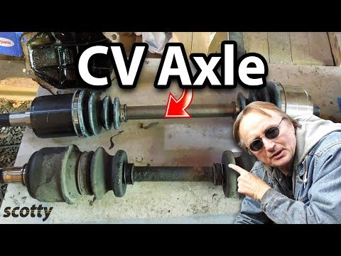 Replacing A Broken CV Axle On Your Car