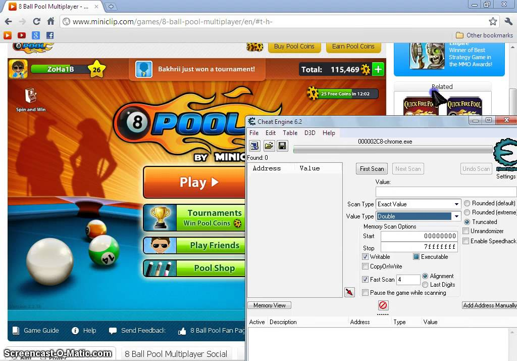 Earn pool coins for free - 8 Ball Pool Coins hack 2018 ...
