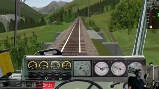 Livestream Teil 2 mit OpenRails[60FPS] Unterwegs durch die Schweiz und Bayerischer Wald