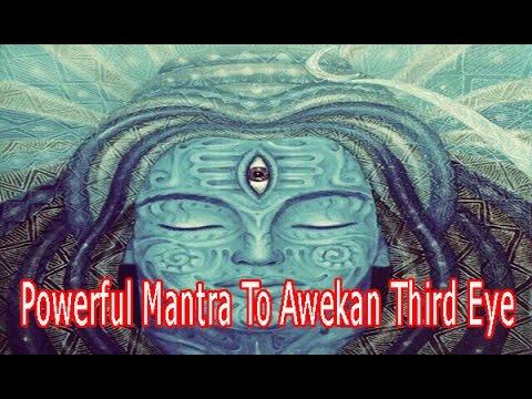 Powerful Mantra To Awekan Third Eye & Unlock PSYCHIC Abilities | Shiv Shakti Mantra