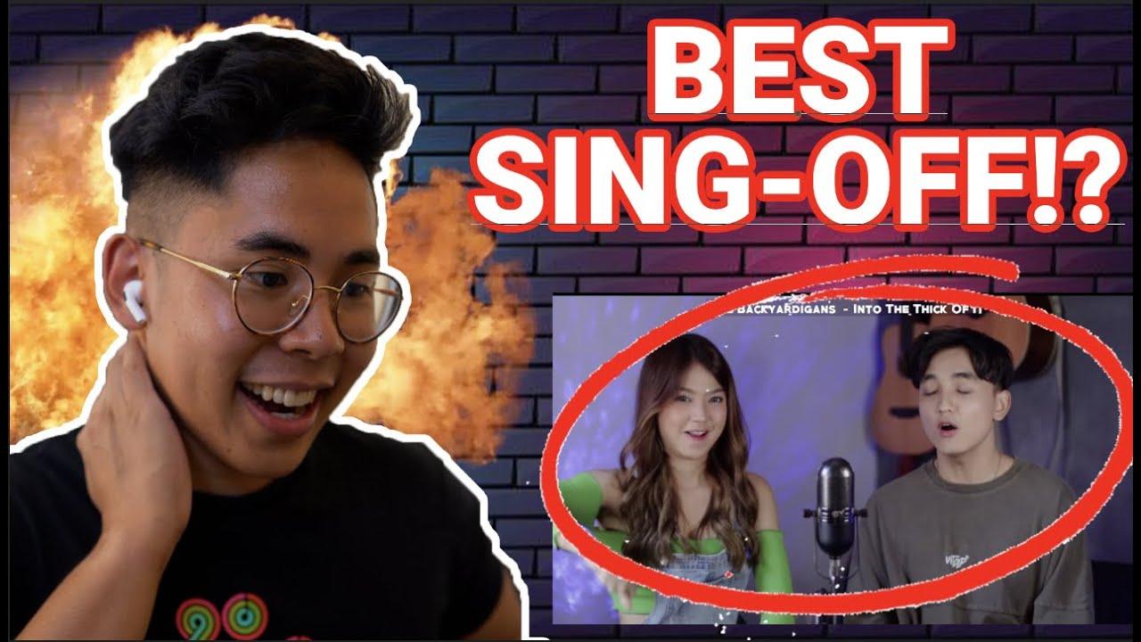 SING OFF TIKTOK SONGS PART V Build A B*tch, Everything Sucks, Kiss Me More vs Mirriam Eka REACTION!