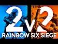 Rainbow Six Siege - 2v2 Face Off Highlights!
