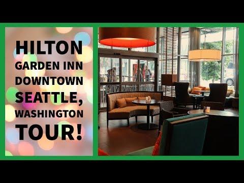 Hilton Garden Inn Seattle, Washington Tour!