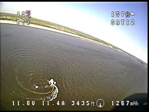Flying at Lake Somerville Tx.