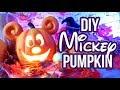 Disney DIY - HALLOWEEN MICKEY PUMKIN - CITROUILLE MICKEY