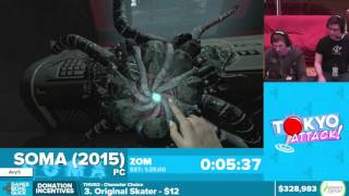 This is a speedrun of SOMA by ZOM from Awesome Games Done Quick 201...