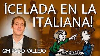 DOMINA desde la APERTURA con la CELADA en la ITALIANA - GM Paco Vallejo CHESS24