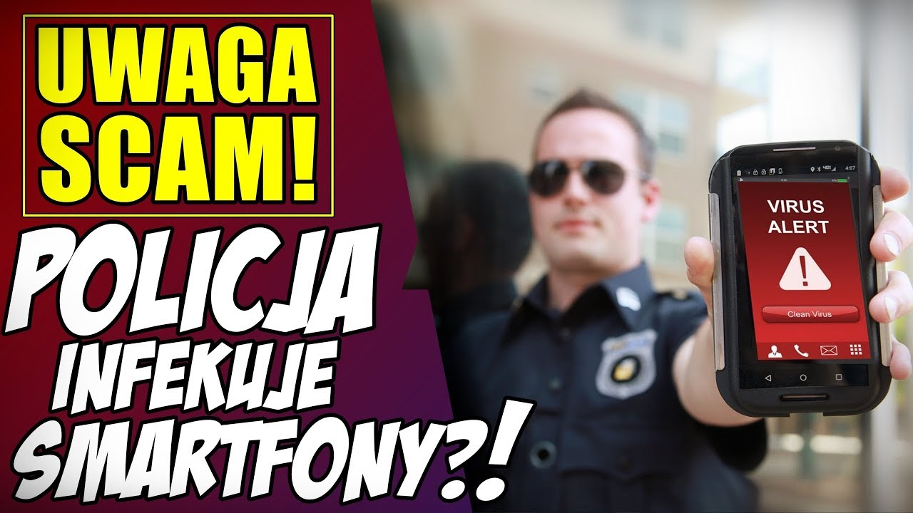 UWAGA SCAM! - Policja infekuje smartfony?! * email Allegro * przelew 1zł * raty OLX * agregat  -50%