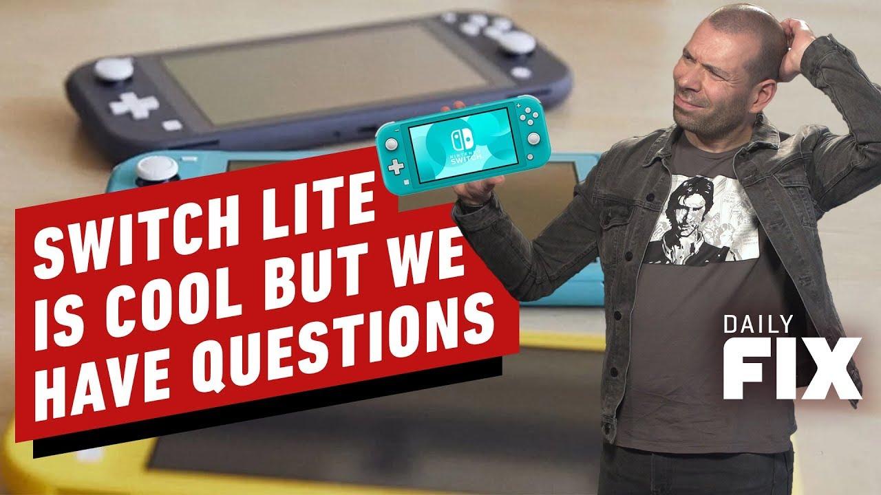 Neuer Switch Lite klingt cool, aber wir haben Fragen - IGN Daily Fix + video