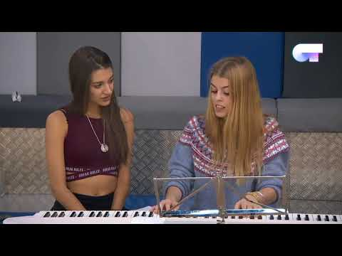 Nerea y Ana Guerra | Nerea le toca a Ana parte del musical