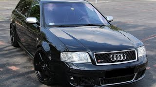 Audi Rs6 c5 ABT 505Hp 630Nm Acceleration 0-100 4.2 biturbo v8 HD