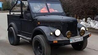 ГАЗ 69 реанимация (old car resuscitation  GAZ-69)