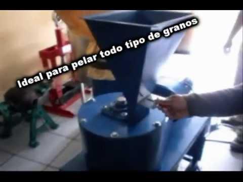 Máquina Moronera, Peladora De Granos Por Fischer Agro