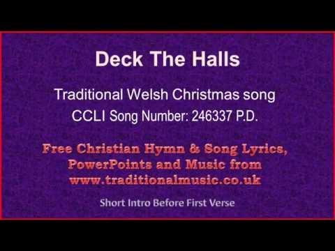 Deck The Halls(corrected) - Christmas Carols Lyrics & Music