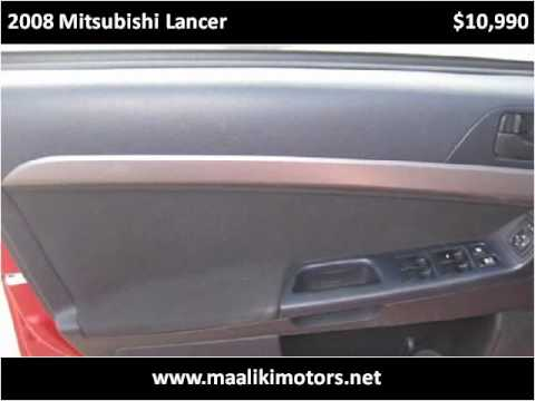 2008 Mitsubishi Lancer available from Maaliki Motors