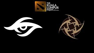 Secret vs NiP The Kuala Lumpur Major Highlights Dota 2