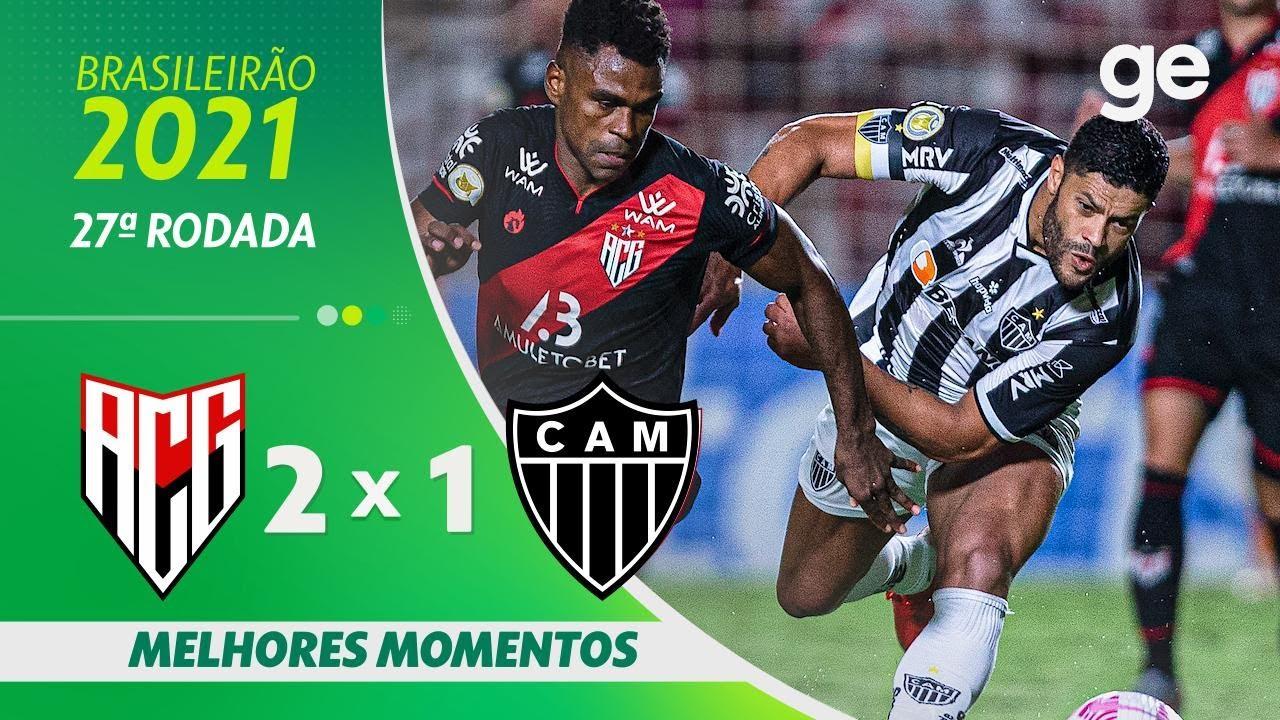 Download ATLÉTICO-GO 2 X 1 ATLÉTICO-MG | MELHORES MOMENTOS | 27ª RODADA BRASILEIRÃO 2021 | ge.globo