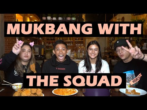 Messy Mukbang With The Squad (FT. Andie Gil, Liza Soberano And Enrique Gil)