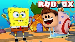 I AM THE NEW PET OF BOB SPONJA in ROBLOX !!