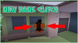 ROBLOX JAILBREAK HOW TO ROB BANK WITHOUT KEY CARD! [GLITCH]