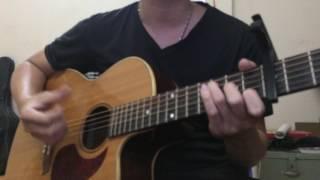 Mình yêu nhau yêu nhau bình yên thôi - Đinh Hương ft Hà Anh Tuấn (Guitar Cover)