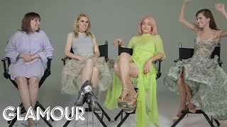 "How Well Does the Cast of ""Girls"" Really Know Each Other? 
