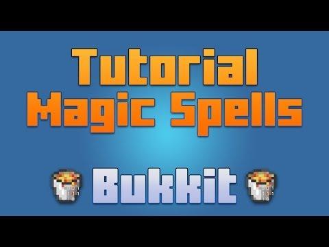Minecraft - Plugin Magic Spells [Tutorial En Español ] Hechizos/magias En Minecraft