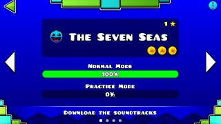 Geometry Dash Meltdown || The Seven Seas || 100% Completed